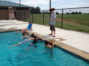 Aquanaut activity pin – day camp