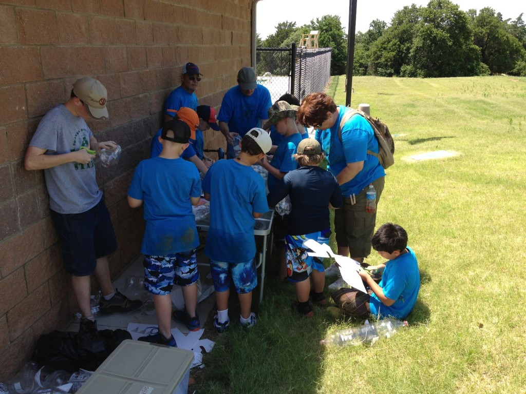 Building water rockets