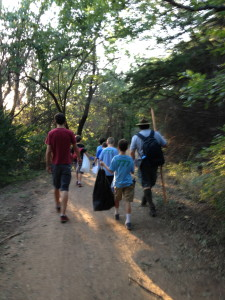 Outdoorsman Service Project and Hike