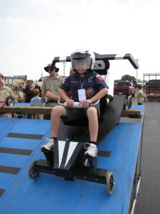 Pictures of the boys racing